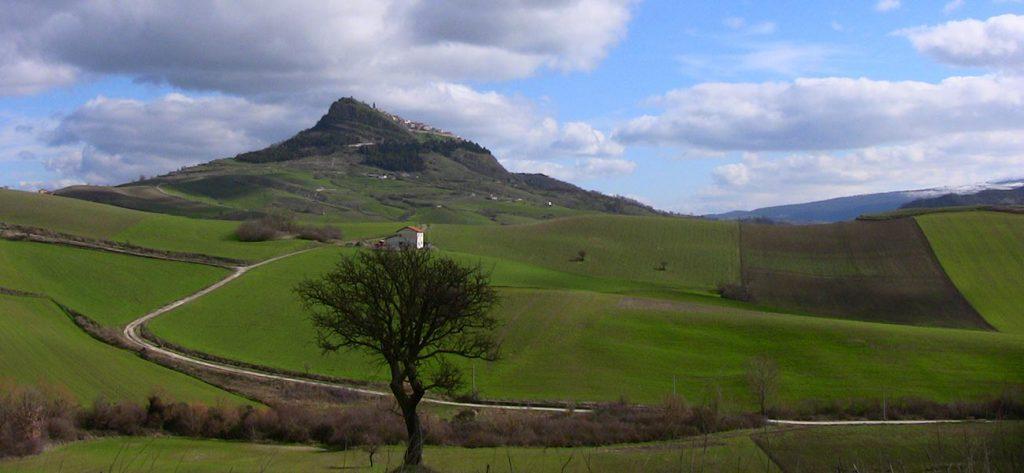 Paesaggio dell'Alta Irpinia, Campania