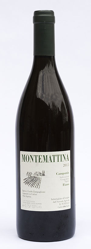 Montemattina, fiano in purezza