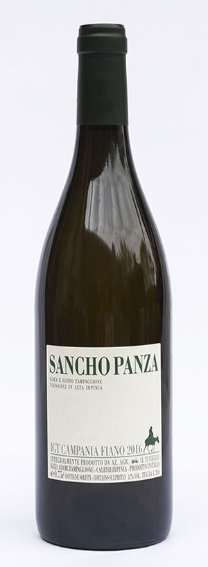 Sancho Panza, fiano in purezza