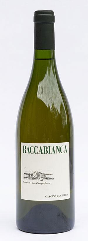 Baccabianca, vino di Cascina Grillo